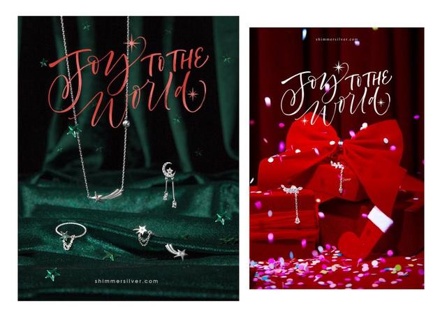 """Lấp lánh mùa lễ hội cùng BST trang sức bạc thủ công """"Joy to the world"""" cùng Shimmer Silver - ảnh 1"""