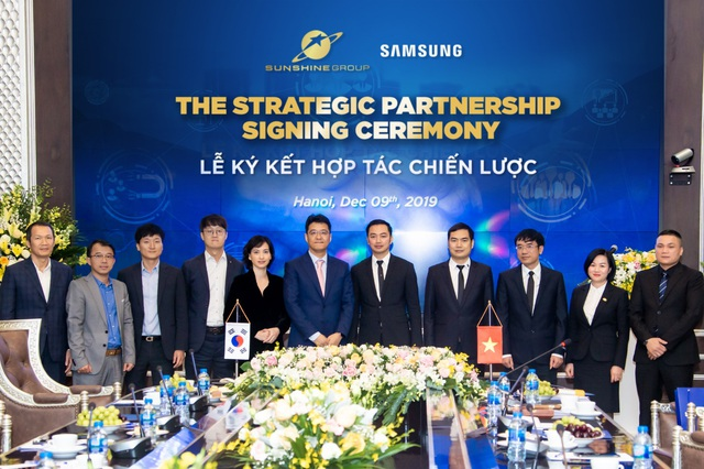 Sunshine Group bắt tay đại gia công nghệ Samsung, hiện thực hóa khát vọng nâng tầm bất động sản Việt Nam - Ảnh 2.