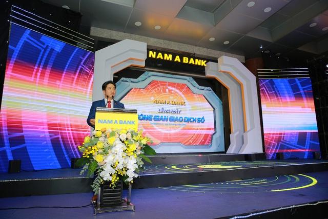 Nam A Bank ra mắt không gian giao dịch số ứng dụng trí tuệ nhân tạo - Ảnh 1.