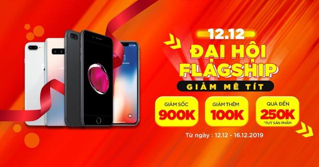 Đại tiệc mua sắm 12/12: iPhone 7 Plus, Galaxy S10 5G giảm đến 900 nghìn đồng tại XTmobile - Ảnh 1.