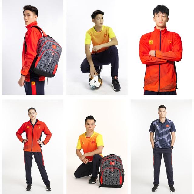 Thương hiệu nào đứng sau Trang phục của Đoàn thể thao Việt Nam tại Sea Games 30 - Ảnh 1.