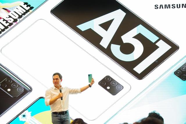 Galaxy A51 ra mắt chính thức tại Việt Nam, đến Quang Vinh, MisThy cũng phải mê mẩn - Ảnh 2.