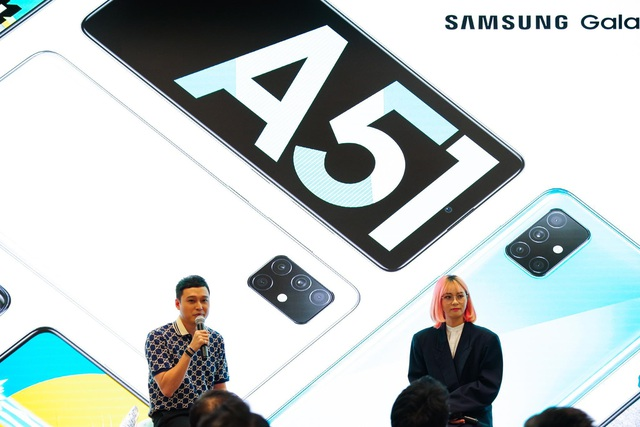 Galaxy A51 ra mắt chính thức tại Việt Nam, đến Quang Vinh, MisThy cũng phải mê mẩn - Ảnh 4.