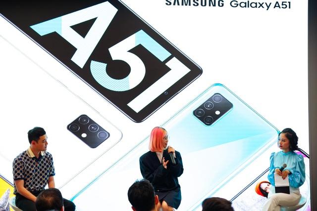 Galaxy A51 ra mắt chính thức tại Việt Nam, đến Quang Vinh, MisThy cũng phải mê mẩn - Ảnh 9.