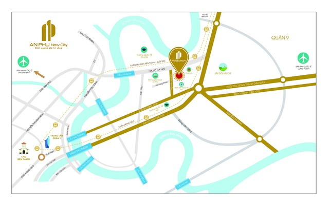 An Phu New City chính thức ra mắt thị trường khu Đông - Ảnh 1.