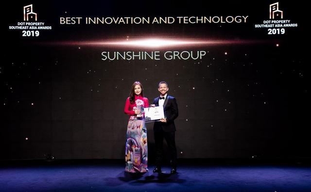 Sunshine Group - Nhà đầu tư Đổi mới sáng tạo và Ứng dụng công nghệ tốt nhất Đông Nam Á - Ảnh 1.