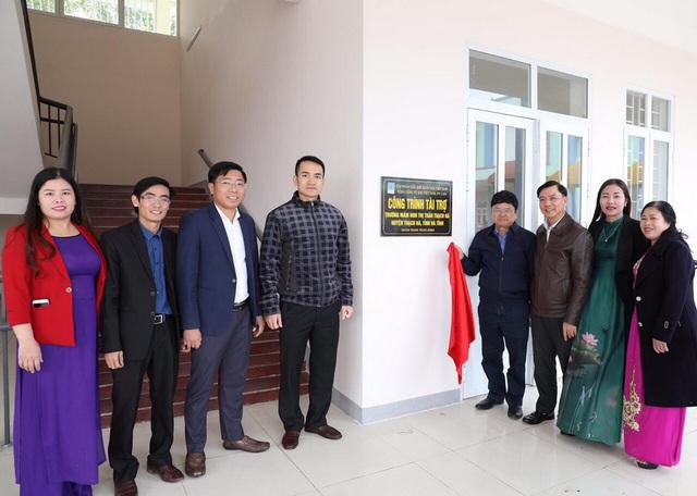 PV GAS tài trợ xây dựng 2 trường mầm non Nghệ An và Hà Tĩnh - Ảnh 1.