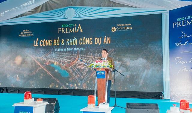 Capital House khởi công khu đô thị cao cấp bậc nhất Buôn Ma Thuột - Ảnh 1.