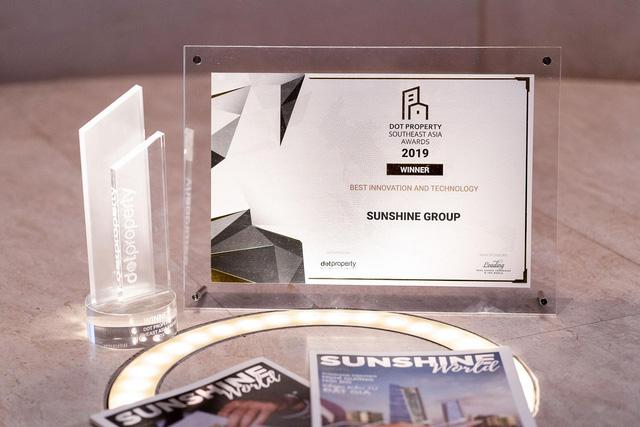 Sunshine Group - Nhà đầu tư Đổi mới sáng tạo và Ứng dụng công nghệ tốt nhất Đông Nam Á - Ảnh 2.