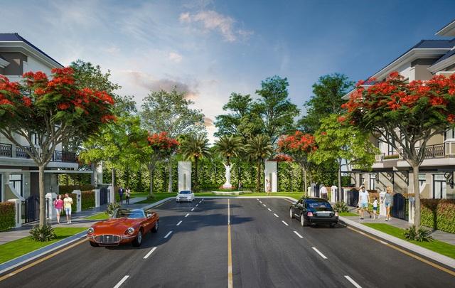 Verosa Park Khang Điền:  Khai trương nhà mẫu -  Dấu ấn kiến trúc Tân Cổ Điển - Ảnh 5.