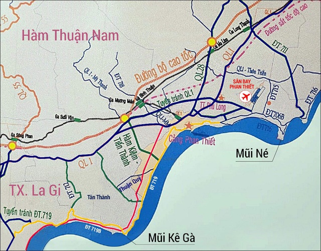 Loạt hạ tầng giao thông mới nối cao tốc Phan Thiết - Dầu Giây đánh thức thiên đường biển Nam Phan Thiết - Ảnh 1.
