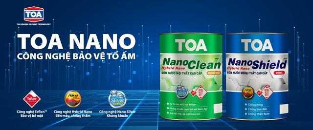 """Bộ đôi sơn nước Toa Nano Shield và Toa Nano Clean tự hào nhận danh hiệu top 10 """"thương hiệu dẫn đầu Việt Nam 2019"""" - Ảnh 1."""