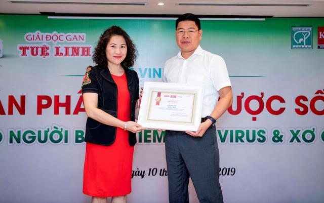 Tuệ Linh tưng bừng kỷ niệm 10 năm ra đời TPBVSK Giải độc gan Tuệ Linh - Ảnh 2.