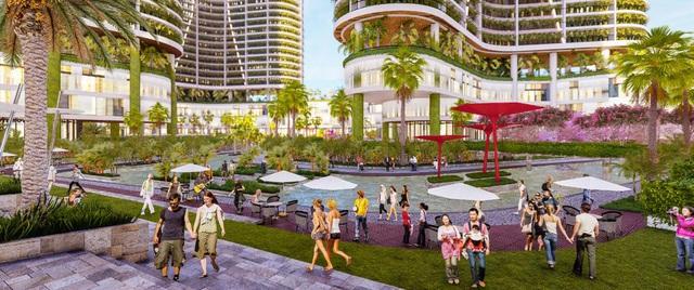 Dự án căn hộ resort tại Quận 7 đào sông trong lòng dự án, phát triển 4.000 vườn nhiệt đới trên không - Ảnh 4.