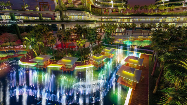 Dự án căn hộ resort tại Quận 7 đào sông trong lòng dự án, phát triển 4.000 vườn nhiệt đới trên không - Ảnh 5.