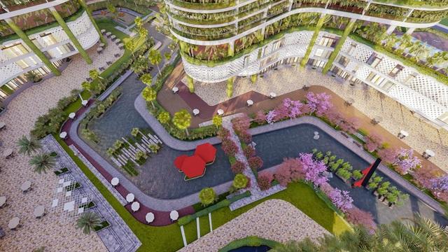 Dự án căn hộ resort tại Quận 7 đào sông trong lòng dự án, phát triển 4.000 vườn nhiệt đới trên không - Ảnh 6.