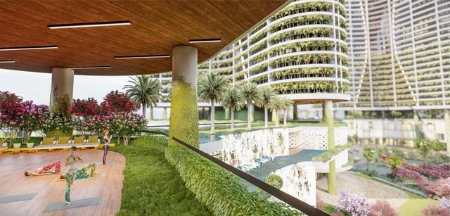Dự án căn hộ resort tại Quận 7 đào sông trong lòng dự án, phát triển 4.000 vườn nhiệt đới trên không - Ảnh 7.