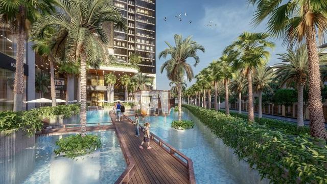 Dự án căn hộ resort tại Quận 7 đào sông trong lòng dự án, phát triển 4.000 vườn nhiệt đới trên không - Ảnh 9.