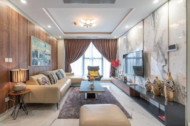 """Đại gia Hà Thành bỏ bạc tỷ mua căn hộ thượng lưu: Nhận nhà """"khác xa"""" bản vẽ 3D - Ảnh 1."""
