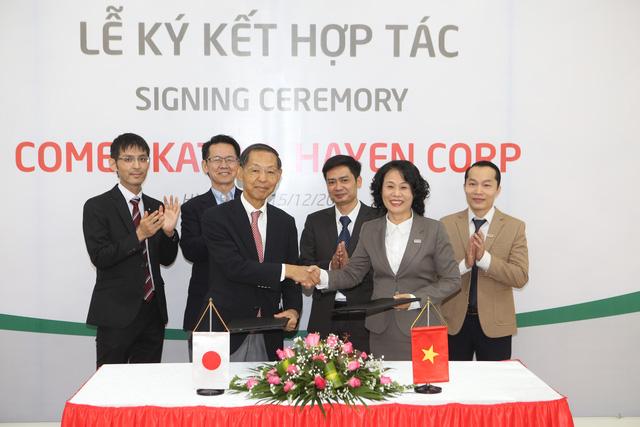 Lễ ký kết thỏa thuận hợp tác chiến lược giữa Hà Yến – Việt Nam và Comet Kato - Nhật Bản - Ảnh 1.
