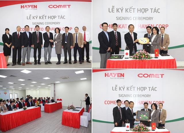 Lễ ký kết thỏa thuận hợp tác chiến lược giữa Hà Yến – Việt Nam và Comet Kato - Nhật Bản - Ảnh 2.