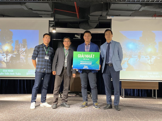 Trao giải cuộc thi ảnh VPBank Hanoi Marathon Run & Share 2019 - Ảnh 1.