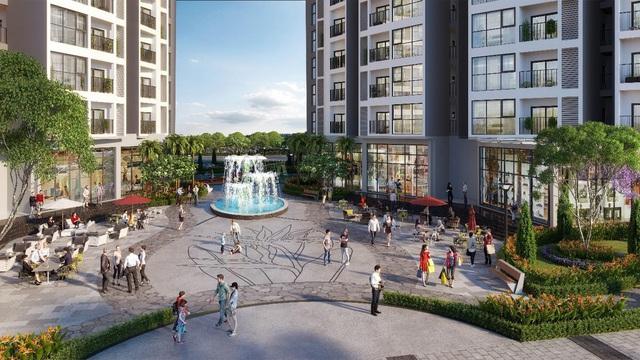 Dự án Le Grand Jardin đầu tư bãi đỗ xe có sức chứa lớn - Ảnh 1.