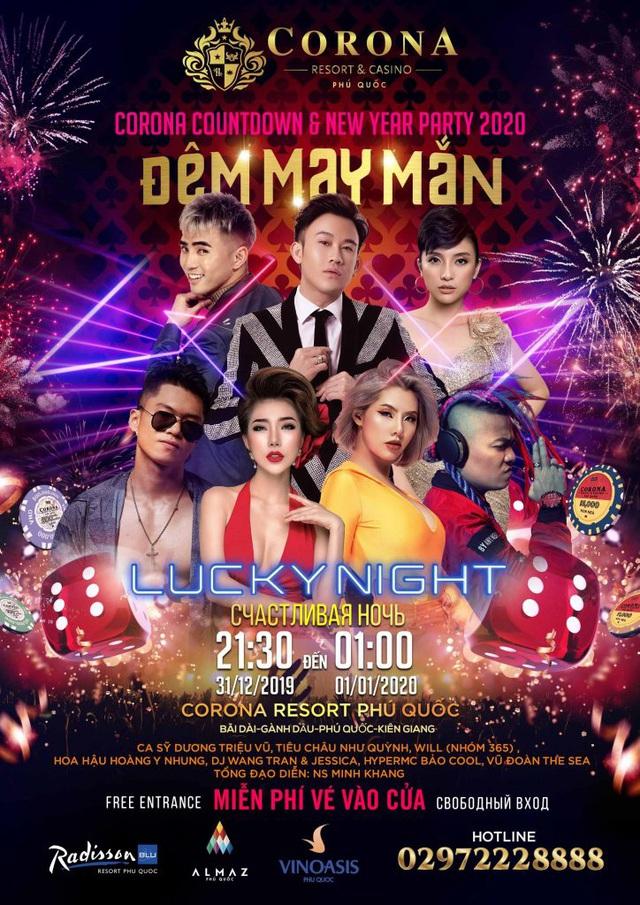 Thưởng thức ca nhạc miễn phí tại Corona Resort Phú Quốc Countdown Party 2020 - Ảnh 1.