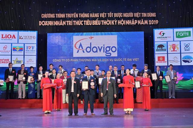 Chủ tịch Adavigo Vũ Tiến Văn lọt top 20 doanh nhân xuất sắc tiêu biểu 2019 - Ảnh 1.