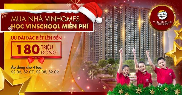 Mua nhà Vinhomes, học Vinschool miễn phí - Ảnh 1.