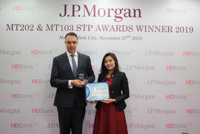Dịch vụ thanh toán quốc tế của HDBank 2 năm liền nhận giải thưởng từ Ngân hàng Mỹ - Ảnh 1.