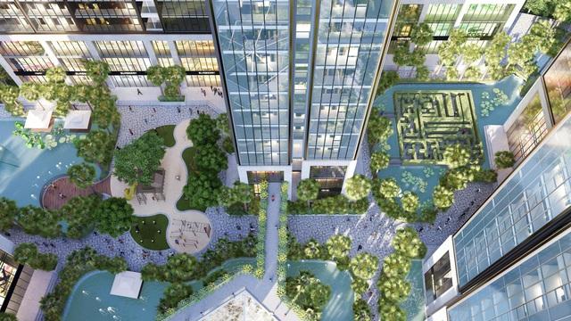"""Dự án đầu tiên tại Quận 7 có 100% căn hộ sở hữu thiết kế kính tràn nguyên khối từ trần xuống sàn như """"sky villa"""" - Ảnh 1."""