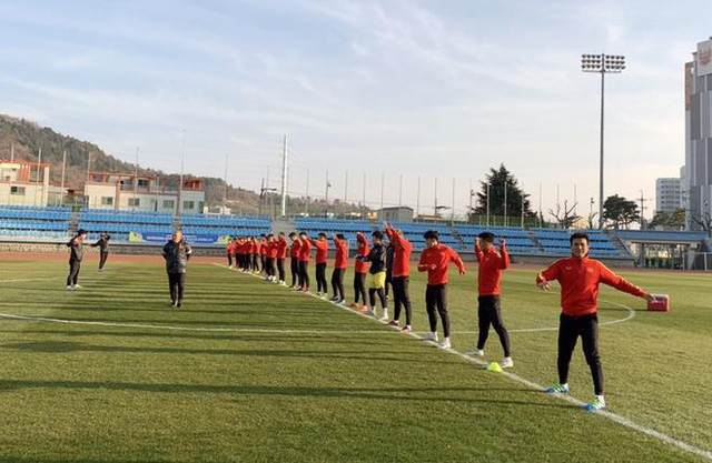 Xứ sở nhân sâm đã chào đón thầy Park và đội tuyển U23 Việt Nam sang tập huấn thế nào? - Ảnh 4.