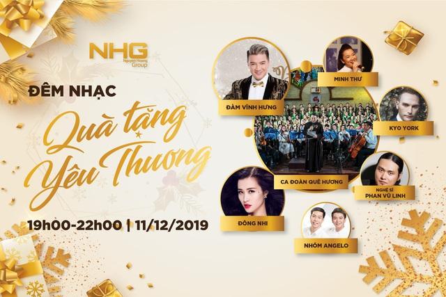"""Hội học sinh, sinh viên NHG tổ chức đêm nhạc Giáng sinh """"Quà tặng yêu thương"""" - ảnh 1"""