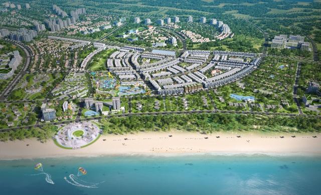Sớm bàn giao giấy chứng nhận quyền sử dụng đất, Nhơn Hội New City hấp dẫn nhà đầu tư - Ảnh 1.