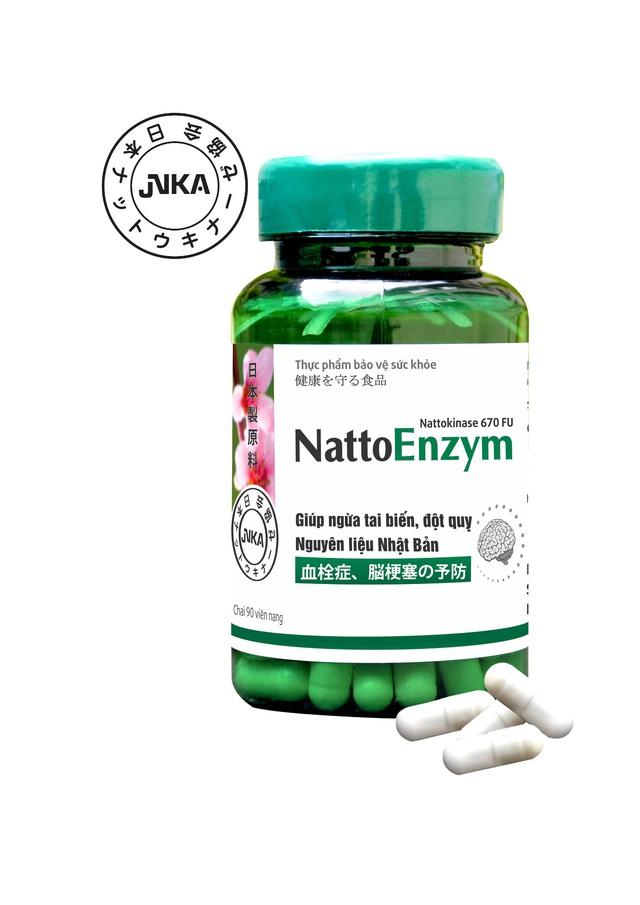 4 lý do quý ông nên dùng NattoEnzym phòng đột quỵ tuổi 40 - Ảnh 3.