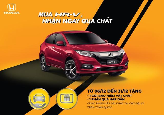 Honda Việt Nam tiếp tục triển khai chương trình khuyến mãi Mua HR-V, nhận ngay quà chất - Ảnh 2.