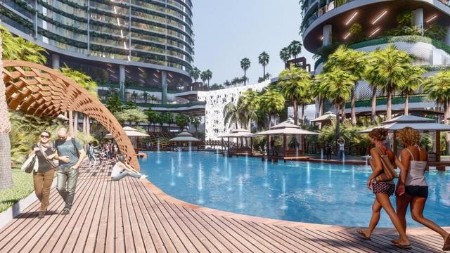 Tổ hợp resort hơn 1 tỷ USD có sông nhân tạo, thác nước và vườn nhiệt đới tiếp cận thềm căn hộ tại quận 7 - Ảnh 6.