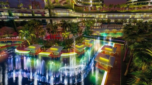Tổ hợp resort hơn 1 tỷ USD có sông nhân tạo, thác nước và vườn nhiệt đới tiếp cận thềm căn hộ tại quận 7 - Ảnh 8.