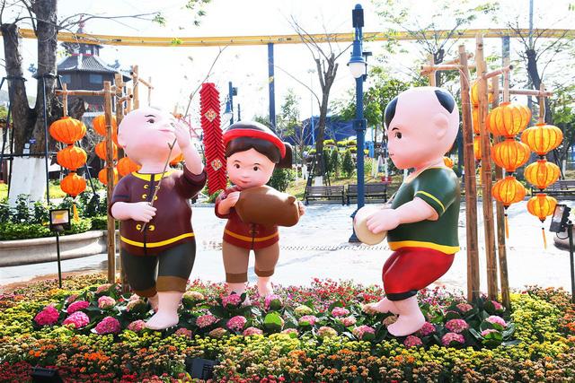 Lễ hội hoa xuân Sun World Halong Complex: Điểm hẹn hấp dẫn thu hút du khách dịp Tết - Ảnh 1.