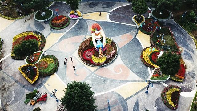 Lễ hội hoa xuân Sun World Halong Complex: Điểm hẹn hấp dẫn thu hút du khách dịp Tết - Ảnh 3.