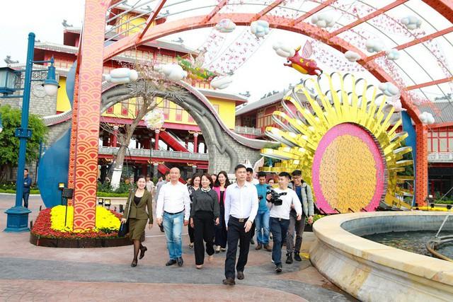 Lễ hội hoa xuân Sun World Halong Complex: Điểm hẹn hấp dẫn thu hút du khách dịp Tết - Ảnh 4.