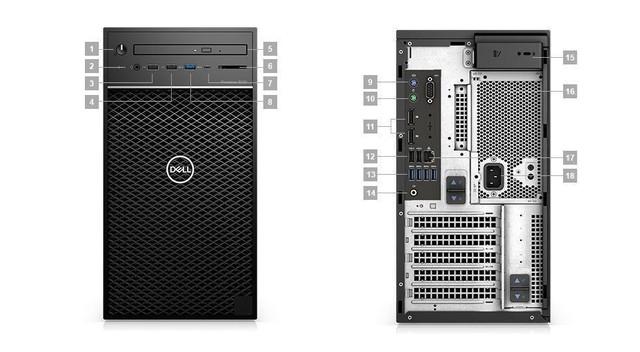 """Dell Precision 3630 – Sức mạnh """"khủng long"""" cho doanh nghiệp lớn - Ảnh 1."""