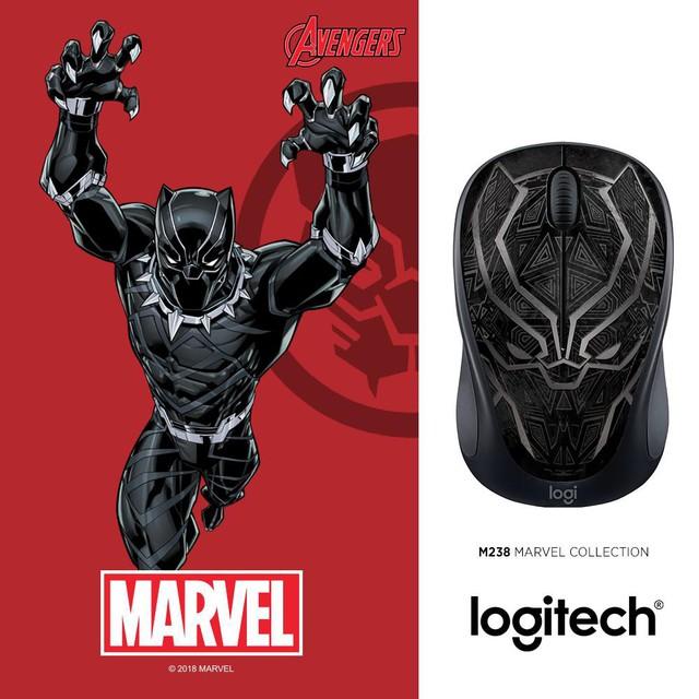Captain Marvel sẽ là thành viên mới nhất trong bộ sưu tập chuột không dây M238 Marvel - Ảnh 3.