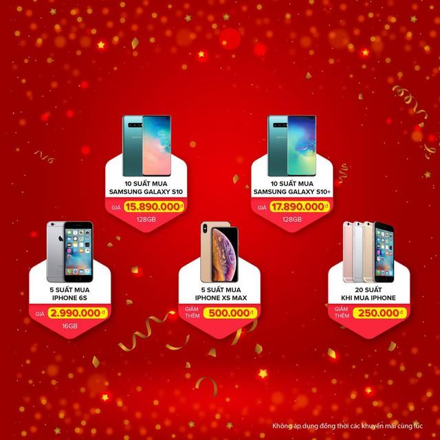 Di Động Việt khai trương cửa hàng thứ 12 : iPhone 6S giá 2,9 triệu đồng, Galaxy S10 giảm hơn 5 triệu đồng - Ảnh 2.