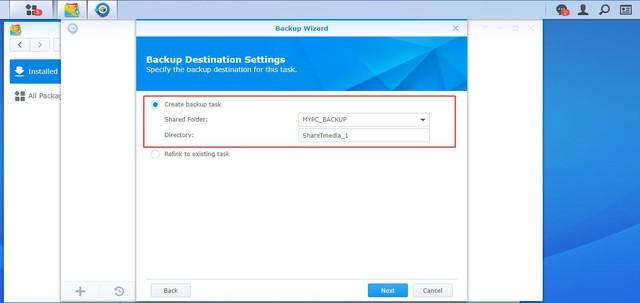 Hướng dẫn sử dụng chiến lược backup 3-2-1 với Synology Diskstation DS918+ - Ảnh 5.