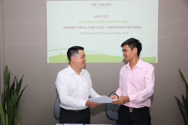 Lễ ký kết nhượng quyền thương hiệu Mommy Spa & Skin Care với đối tác tại TP. Tây Ninh – Tỉnh Tây Ninh - Ảnh 1.