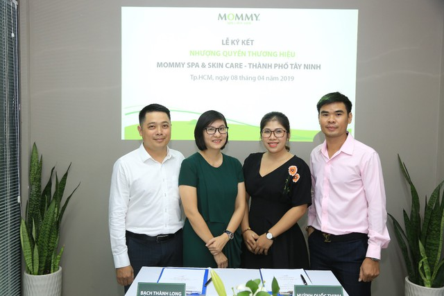 Lễ ký kết nhượng quyền thương hiệu Mommy Spa & Skin Care với đối tác tại TP. Tây Ninh – Tỉnh Tây Ninh - Ảnh 2.