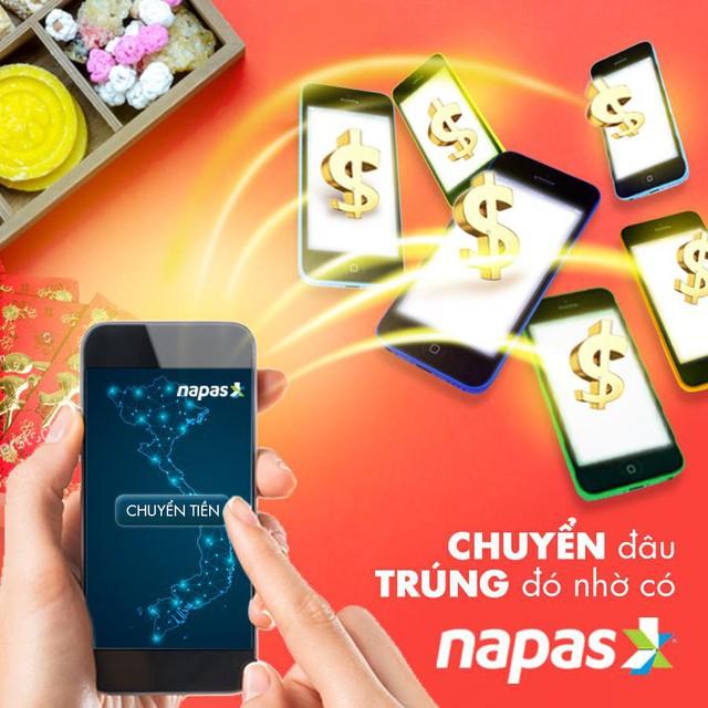 Chuyển tiền nhanh, siêu tiện lợi qua thẻ NAPAS - Ảnh 1.