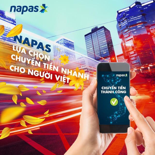 Chuyển tiền nhanh, siêu tiện lợi qua thẻ NAPAS - Ảnh 2.